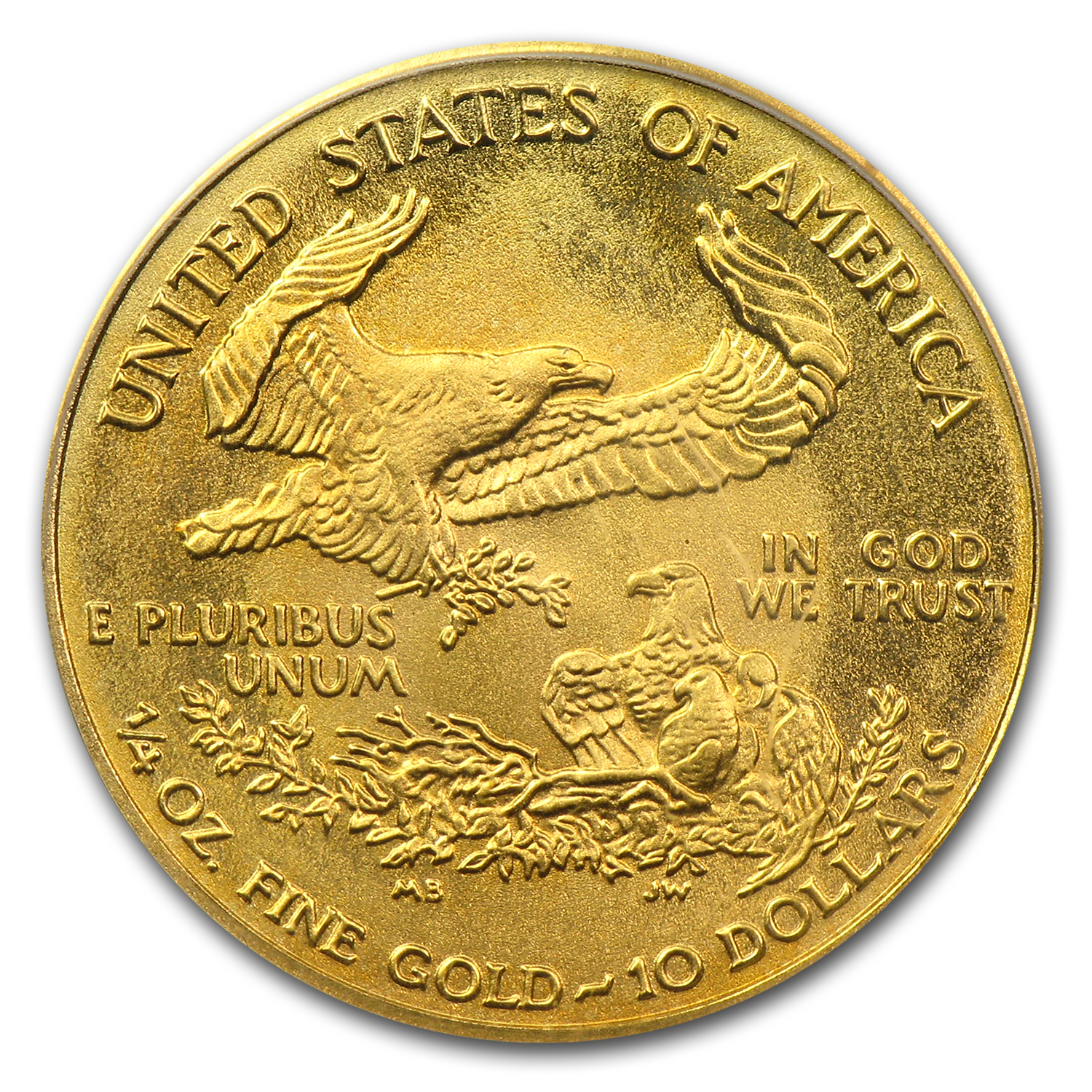 2003 1/4 oz Gold American Eagle MS-69 PCGS (Tommy Franks)